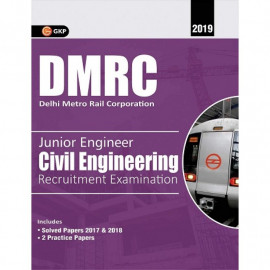 DMRC Junior Engineer Civil Engineering Guide: GK Publication