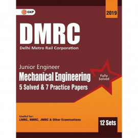 DMRC Junior Engineer Mechanical Engineering Previous Years' Solved Papers (12 Sets) : GK Publication