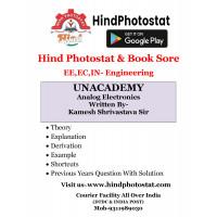 Unacademy Handwritten Notes Analog Electronics Written By-Kamesh Shrivastava