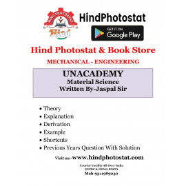 Unacademy Handwritten Notes Material Science Written By-Jaspal Sir [ME]
