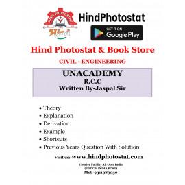 Unacademy Handwritten Notes R.C.C Written By-Jaspal Sir [Civil]