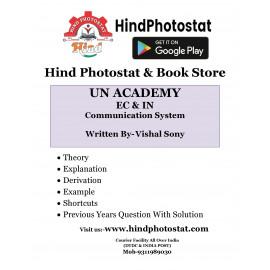 Unacademy Handwritten Notes Communication System Written By-Vishal Soni