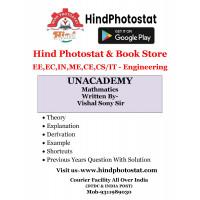 Unacademy Handwritten Notes Engineering Mathematics Written By-Vishal Soni