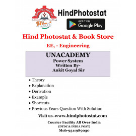 Unacademy Handwritten Notes Power System Written By-Ankit Goyal Sir