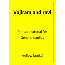 Vajiram and Ravi General Studies Printed notes   (28 Yellow Books)  FOR 2019-2020 PREPARATION